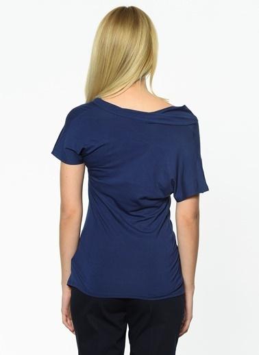 Cotton Bar Bluz Lacivert